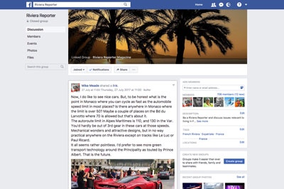 Riviera Reporter Facebook Group