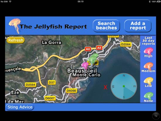 App - Jellyfish Report