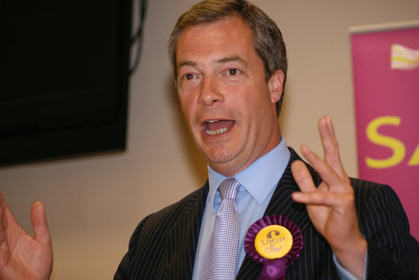 Nigel Farage of UKIP