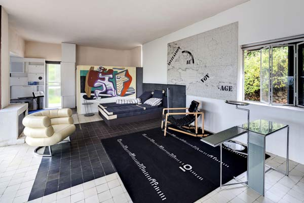 Eileen Gray Villa, Main Room