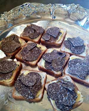 Truffles on Toast