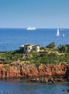 Esterel coastline, French Riviera