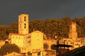 Grasse in the Golden Hour