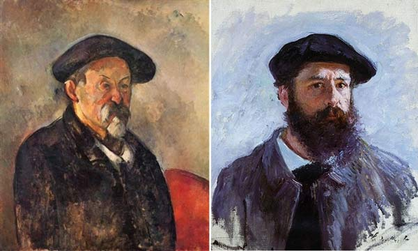 French beret on artists