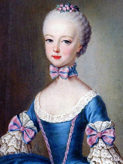 Marie Antoinette at 13 years old