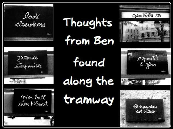 Tramway, Thoughts from Ben