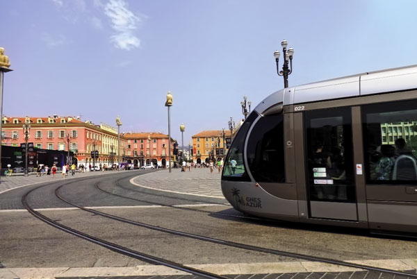 Tramway in Nice