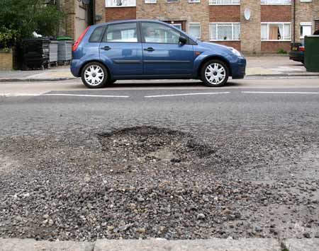 British Potholes