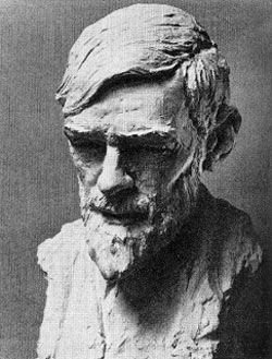 Bust of D H Lawrence