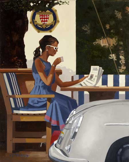 Jack Vettriano: Morning News