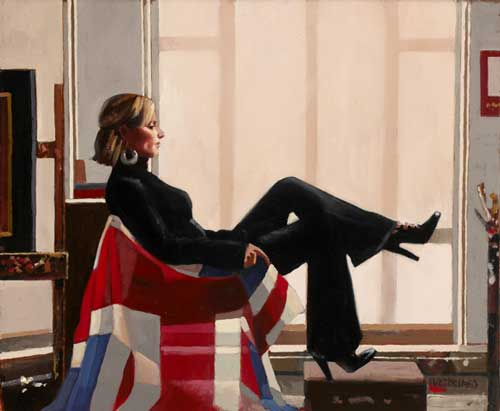 Jack Vettriano: Olympia Portrait of Zara Phillips