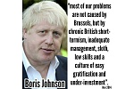 Boris Johnson and his Brexit quote of November 2014