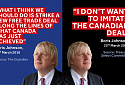 Boris Johnson on Canada